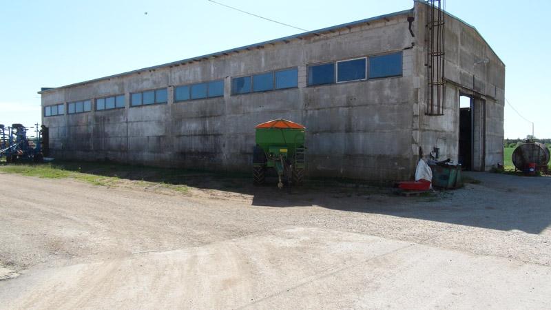 Aru Põllumajandus varjualune, tootmishoone soojustamine