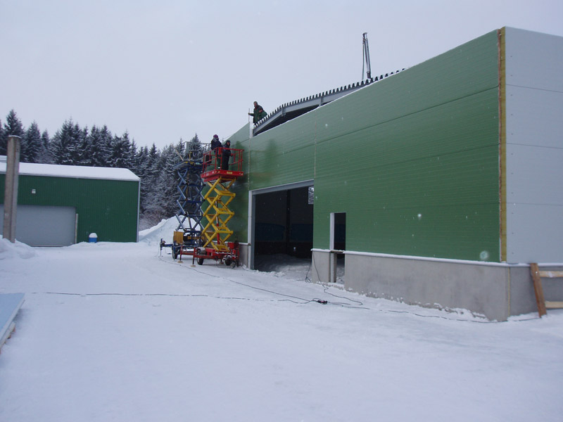 Rakvere Metsamajand tootmishoone juurdeehitus
