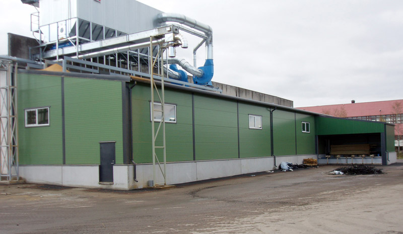 JELD-Wen Eesti tootmishoone juurdeehitus
